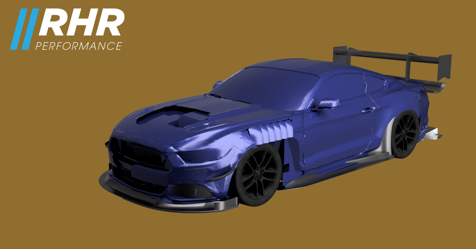 S550 Mustang Project Crusher AI Spec | RHR Performance